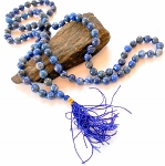 Lapis Japa Mala Prayer Beads