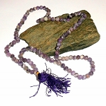 Amethyst Japa Mala Prayer Beads