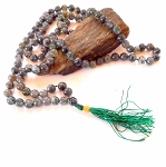 Moss Agate Japa Mala Prayer Beads
