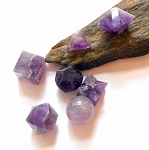 Amethyst Sacred Geometry Platonic Solids Set of 7