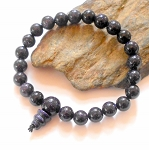 Blue Goldstone Mala Power Bracelet