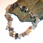 Botswana Agate Chip Stretch Bracelet