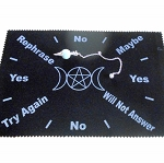 Triple Moon Pendulum Divination Mat