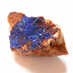 Raw Blue Azurite Specimen 4