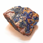 Raw Blue Azurite Specimen 13