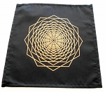 Crystal Grid Cloth - Dodecahedron Fractal