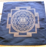 Crystal Grid Cloth - Sri Yantra