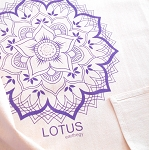 Lotus Flower Crystal Grid Cloth -  20x20