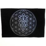 Kabbalah Tree of Life Crystal Grid Mat