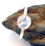 Moonstone Sterling Silver Ring Size 5.5