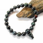 Bloodstone Mala Power Bracelet