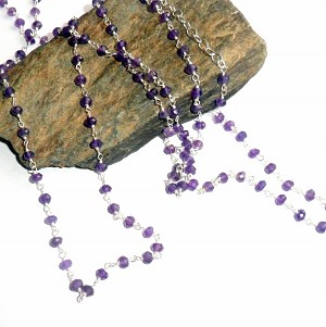 Amethyst Three Way Necklace