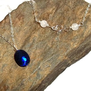 Australian Doublet Opal Necklace